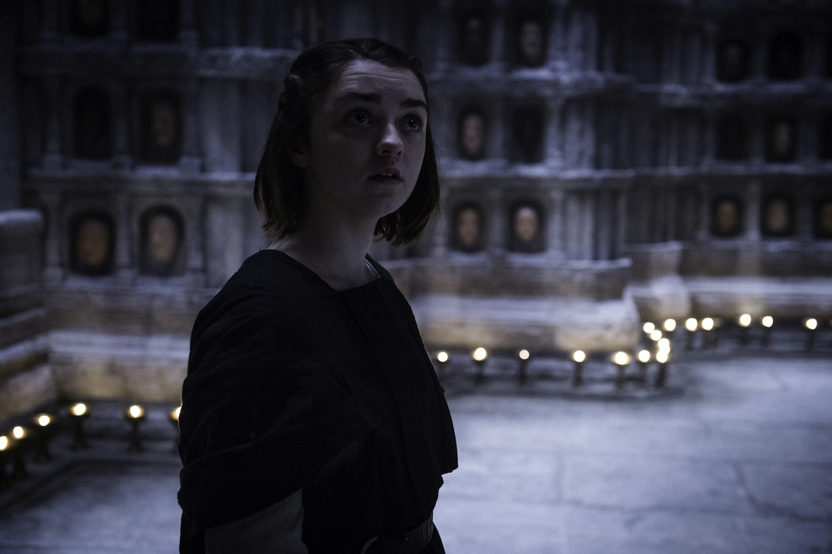 house of black and white arya game of thrones